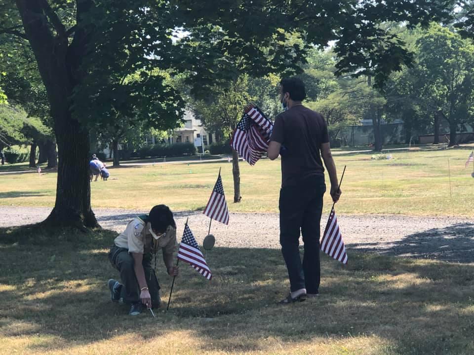 Flag planting 2
